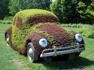 Umweltfreundliches Auto (Quelle Bild: Matthias Preisinger / pixelio.de).